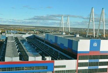 Строительство на территории концерна ПВО «Алмаз-Антей»
