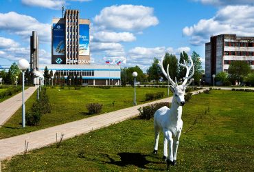 Строительство на территории завода «Фосфорит»