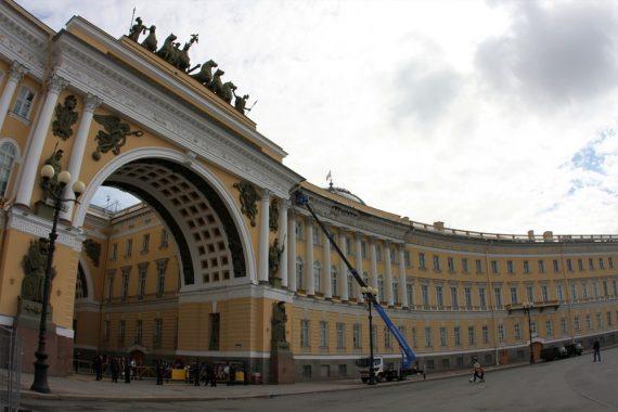 Реконструкция и реставрация восточного крыла здания Главного Штаба Государственного Эрмитажа