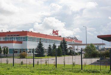 Строительство завода «Кока-Кола»