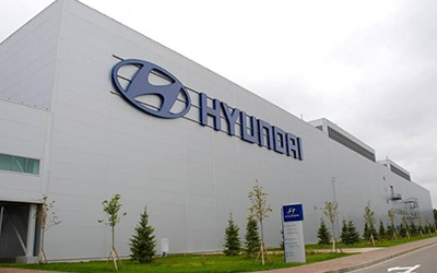 Строительство завода по производству автомобилей «Hyundai»