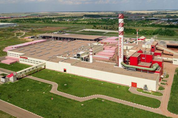 Строительство завода «Роквул»